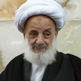 مرحوم آیت الله مجتهدی تهرانی